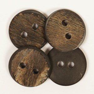 Knoop 25 mm buffelhoorn - 536