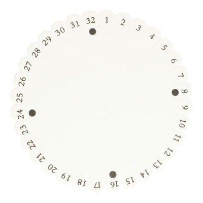kumihimo disk rond 150 mm