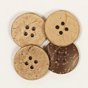 Knoop 20 mm kokos - 515