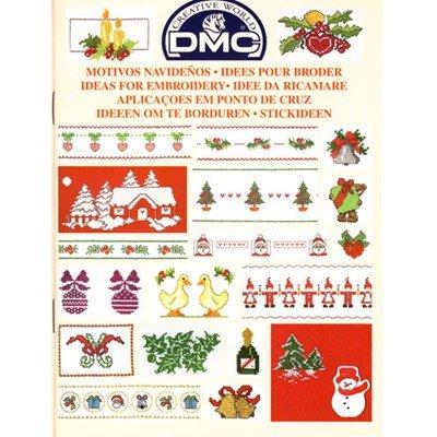 DMC creative world - ideeen om te borduren voor de kerst 14086