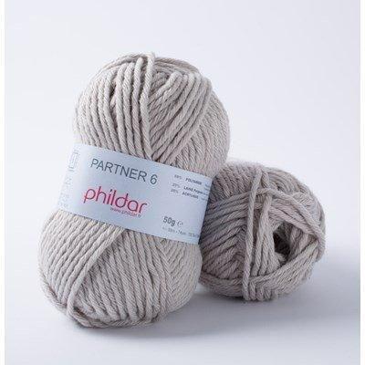 Phildar Partner 6 Brume 0029 - 1462