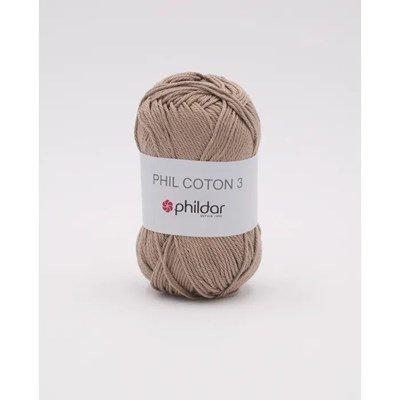 Phildar Phil coton 3 Chanvre 1264 - 22