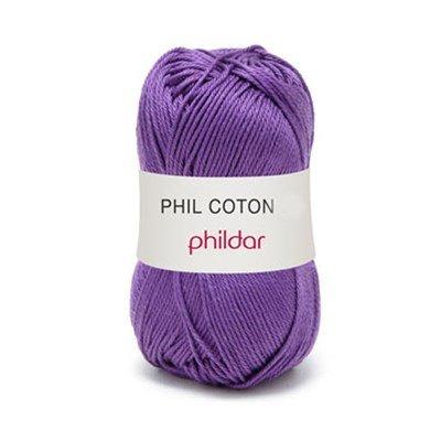 Phildar Phil coton 3 Violet 1445 - 38