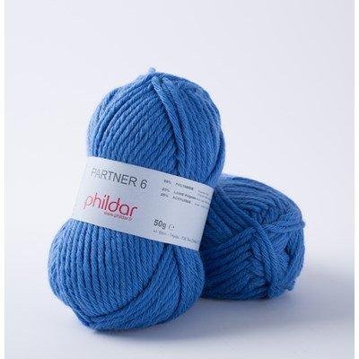 Phildar Partner 6 Bleuet 0043 - 1084