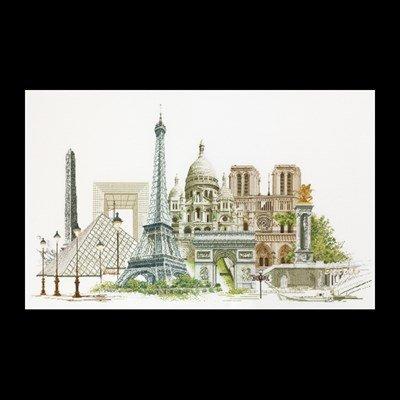 borduurpakket Parijs - Thea Gouverneur 472
