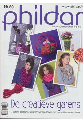 Phildar nr 80 Winter 2012-2013 decoratie en accessoires (op=op)