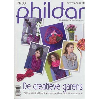 Phildar nr 80 Winter 2012-2013 decoratie en accessoires op=op