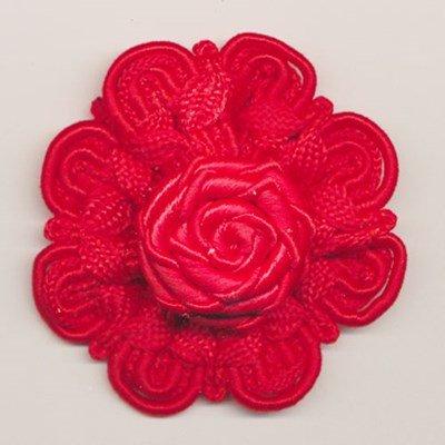 bloem koord 60 mm - rood 1 stuks op=op