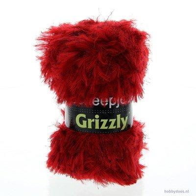 Scheepjes Grizzly 07 rood op=op