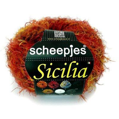 Scheepjes sicilia 2 rood geel op=op
