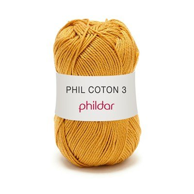 Phildar Phil coton 3 Gold 1233 - 73