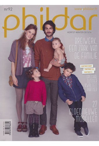 Phildar nr 92 herfst-winter 2013/2014