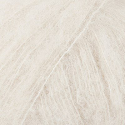 DROPS Brushed Alpaca Silk 01 naturel