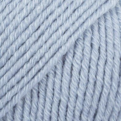 DROPS Cotton merino 09 ijs blauw