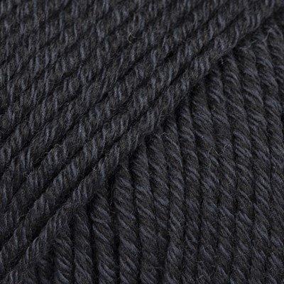 DROPS Cotton merino 02 zwart