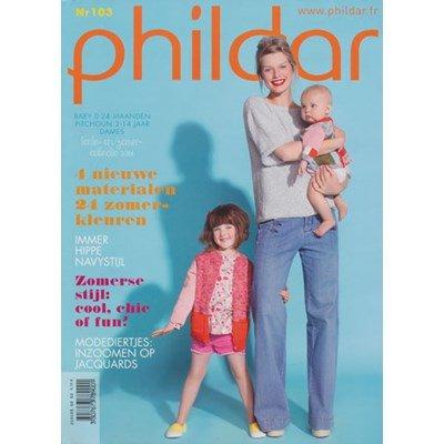 Phildar nr 103 baby 0-24 maand en dames op=op