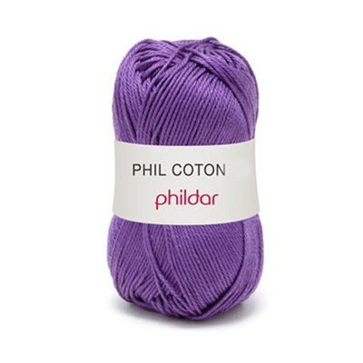 Phildar Phil Coton 4 Violet 0038 - paars