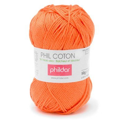 Phildar Phil Coton 4 Vitamine 0006 - oranje