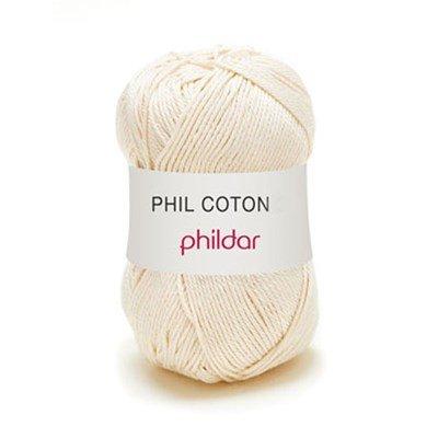Phildar Phil Coton 4 Ecru 0032 - ecru