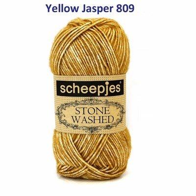 Scheepjes Stone Washed 809 Yellow Jasper