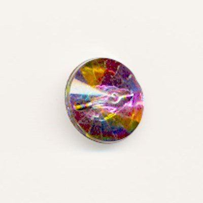 knoop 14 mm diamant gekleurd