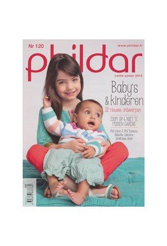 Phildar nr 120 babys en kinderen voorjaar 2015 (p)