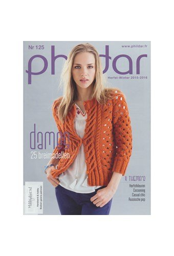 Phildar nr 125 Herfst winter 2015-2016 dames (op=op)