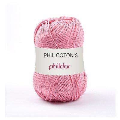 Phildar Phil coton 3 Meringue 1275 - 78