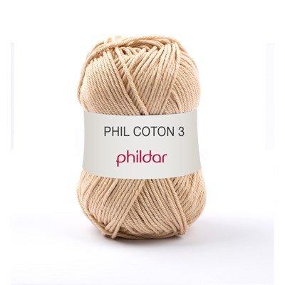 Phildar Phil coton 3 Seigle 1192 - 88