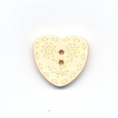 Knoop 20 mm 32 hout hart