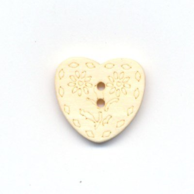 Knoop 18 mm 28 hout hart