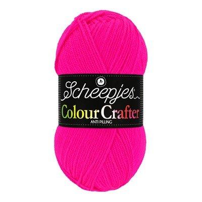 Scheepjes Colour Crafter 1257 Hilversum - roze neon pink