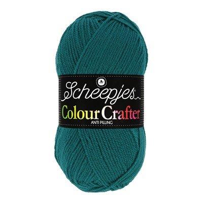 Scheepjes Colour Crafter 1062 Dordrecht - blauw donker aqua