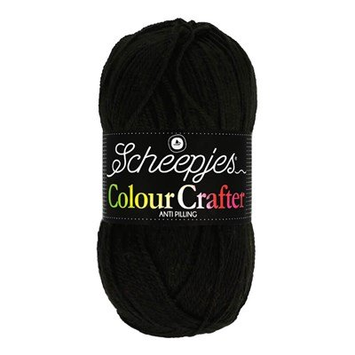 Scheepjes Colour Crafter 1002 Ede - zwart *