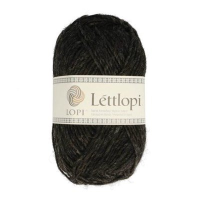 Lett Lopi 0005 black heather