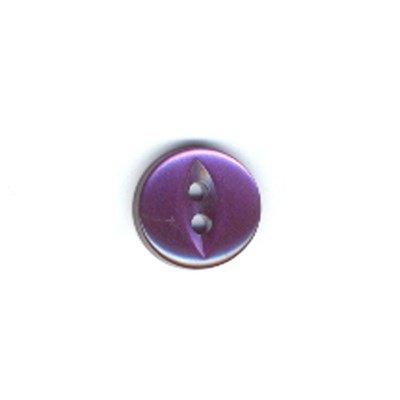 Knoop 11 mm donker paars
