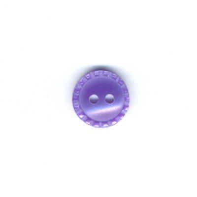 Knoop 11 mm paars
