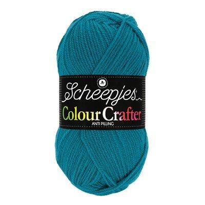 Scheepjes Colour Crafter 2015 Bastogne - blauw aqua