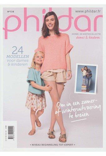 Phildar nr 138 24 modellen voor dames en kinderen
