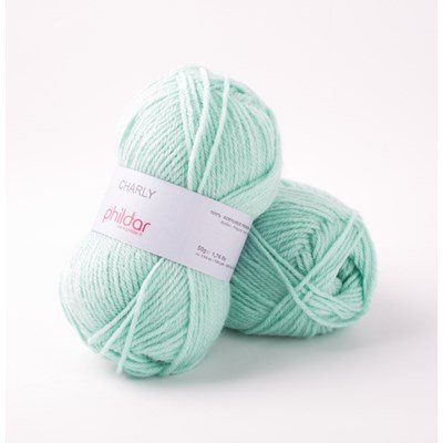Phildar Charly Jade 0047 - 1100 - groen mint