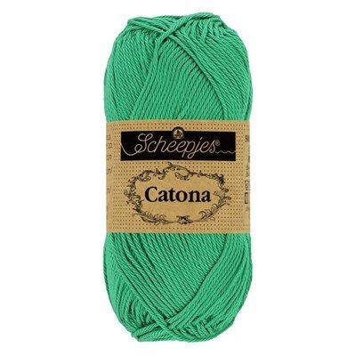 Scheepjes Catona 241 parrot green 50 gram