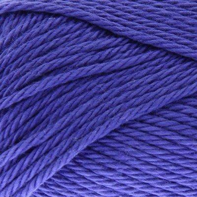Scheepjes Catona 508 deep amethyst 50 gram paars blauw