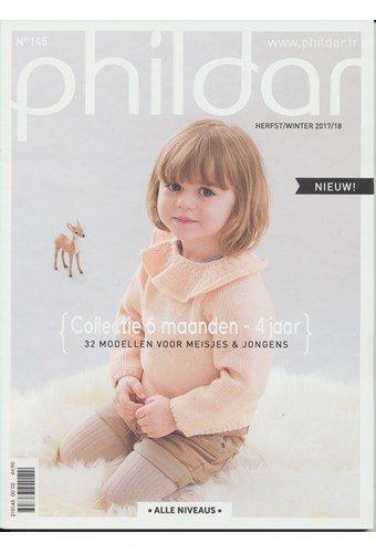 Phildar nr 145 32 modellen voor jongens en meisjes 6 mnd t/m 4 jaar (p)