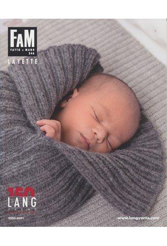 Lang Yarns magazine 246 baby