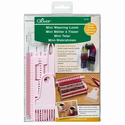 Clover 3176 mini weaving loom single