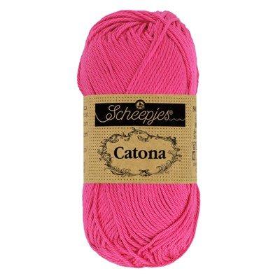 Scheepjes Catona 114 Shocking pink 50 gram