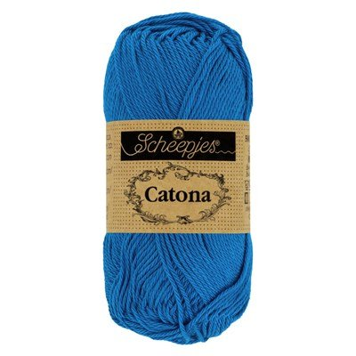 Scheepjes Catona 201 Electric Blue 50 gram