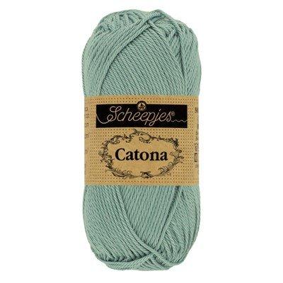 Scheepjes Catona 528 50 gram - oud licht blauw