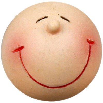 Hoofd glimlach 20 mm poly 5 stuks