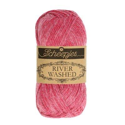 Scheepjes River Washed 943 Mekong - roze